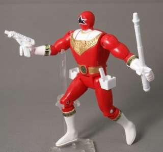 Power Rangers Zeo Ohranger Vintage Bandai 1995 Red