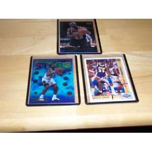 Michael Jordan lot of 3 cards Magic vs. Jordan classic confrontations
