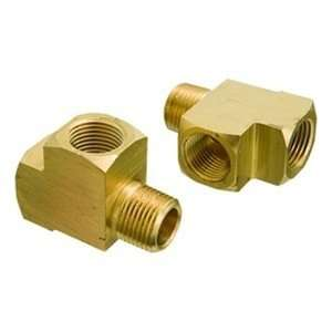 3/4MPT x 3/4FPT,1200psi Brass Pipe Fitting,Male Run Tee