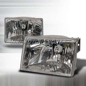 JEEP GRAND CHEROKEE HEADLIGHTS   CHROME Automotive