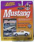 Johnny Lightning Ford Mustang Illustrated Wh​ite Tornado