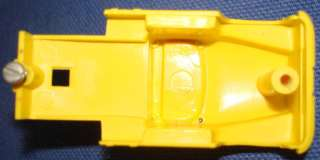 Aurora Vibrator Lemon Yellow Semi Slot Car Cab #1580 Chassis Posts