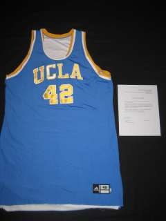 UCLA Game Used Auto Jersey Bruins Rookie Final Four SUPER RARE