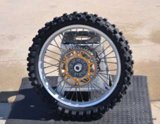 2001 2008 Yamaha YZ450F YZ250F YZ250 YZ125 Back Rear Wheel Tire Rim
