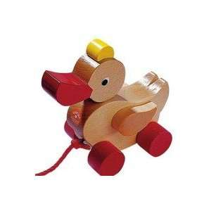 Haba Duck Wooden Pull Toy Toys & Games