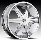 22 DUB BIG HOMIE lll 3 Wheel SET 22x9.5 Chrome Rims for RWD 5 & 6 Lug