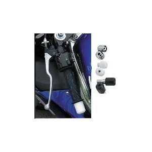 00 SUZUKI GSXR600 VORTEX BAR END SLIDERS   BLACK (BLACK) Automotive