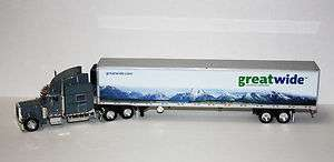 Tonkin Great Wide Pete 379 w/70 slpr. w/53 reefer van