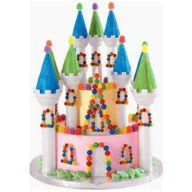 Wilton Romantic Castle Cake Set Kit Princess 310 910