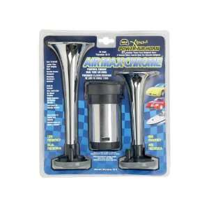 AIR MAX Dual Tone Chrome Air Horn Automotive