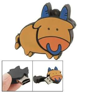 Gino Cartoon Cow Shape USB 2.0 T Flash Memory Card Reader