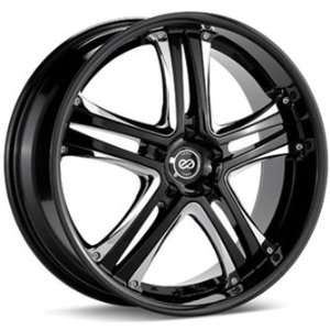 Enkei AKP Black (18x8 +40 5x114.3)    Set of 4 Wheels