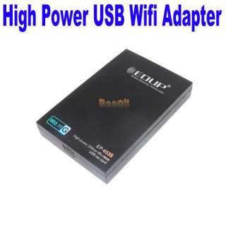 EDUP 802.11b/g 54Mbps High Power 200mW USB Wifi Wireless Lan Network