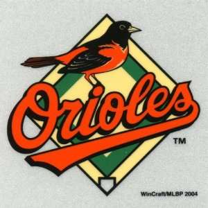 Baltimore Orioles   Logo Reflective Decal   Sticker MLB