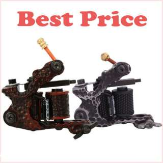 2x Cast Iron Tattoo Machine Liner Shader Gun Handmade