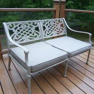 Oakland Living Tacoma Cast Aluminum Deep Seating Loveseat