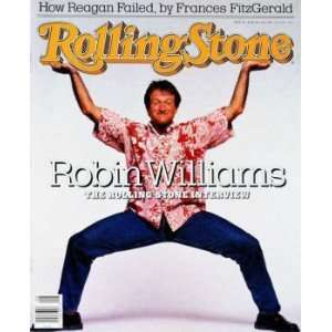 Rolling Stone Magazine Vol. 520, February 25, 1988, Movie Print by