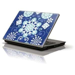 White and Blue Snowflakes skin for Apple Macbook Pro 13 (2011