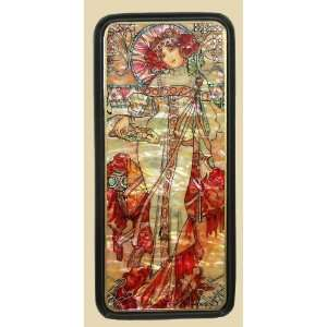 Box (#3369) Art Nouveau Style after painting of MUCHA
