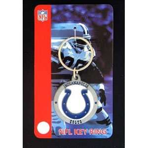 Indianapolis Colts NFL Logo Key Ring