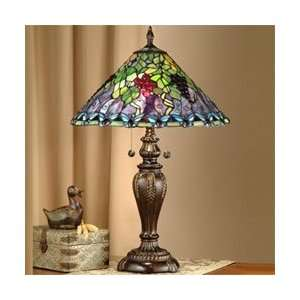Dale Tiffany Pinot Noir Art Glass Table Lamp