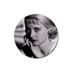 Betty Davis Round Rubber Coaster set 4 pack Great Gift Idea