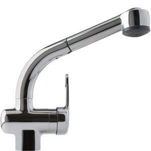 Franke FFPS680A Gooseneck Pull Out Kitchen Faucet W/ STD