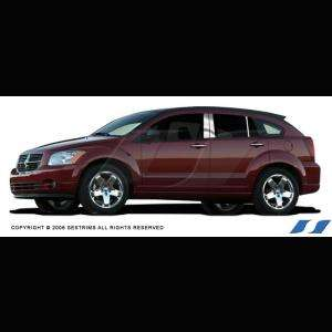 DODGE CALIBER 2006 2011 6PC CHROME PILLAR POSTS POST SES TRIMS