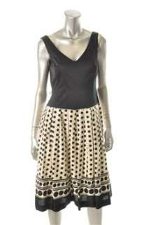 Anne Klein New York Printed Versatile Dress Polka Dot Sale 6