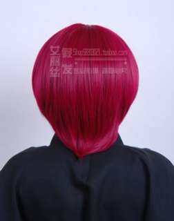 Angel Beats iwasawa asami Cosplay Wig cosplay wig party red cotume