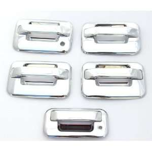 Door Handle & Tailgate Covers w/o keypad & w/o psg keyhole Automotive