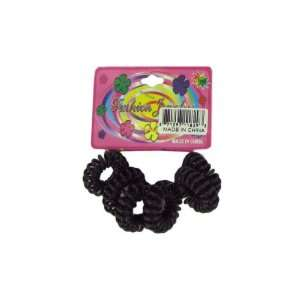 Small black coil bands for wrist   Pack of 90  Kitchen