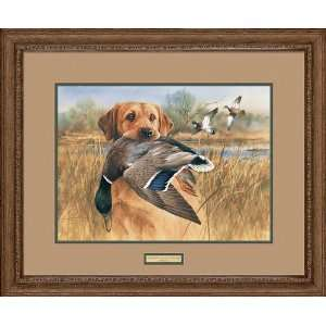 James Killen   Great Retriever Yellow Lab Framed Artists