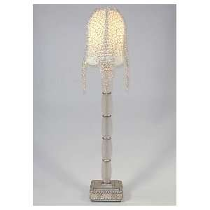 Art Deco Lucite Console Table Lamp