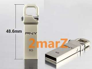 PNY HOOK 16GB 16G USB Flash Drive Stick Lock Hook Metal