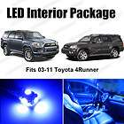 BLUE LED INTERIOR LIGHTS TOYOTA 4RUNNER 4 RUNNER