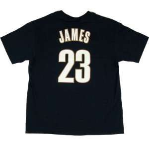 CLEVELAND CAVALIERS LEBRON JAMES MAJESTIC JERSEY YOUTH T