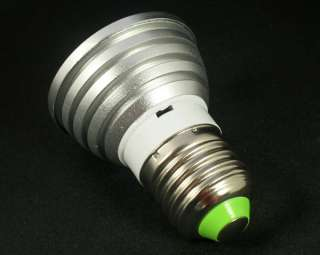 E27 Remote Control 16 Color RGB LED Bulb Light Lamp 3W