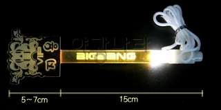 of big bang light stick g dragon top seung ri tae yang dae sung and