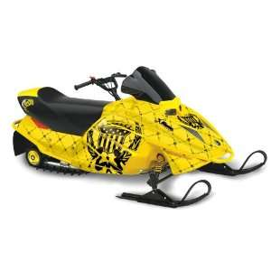 Silver Star AMR Racing Ski doo Mini Z Kids 2003 2008 Sled