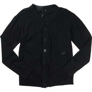 Fox Racing Slam Cardigan   Large/Black Automotive