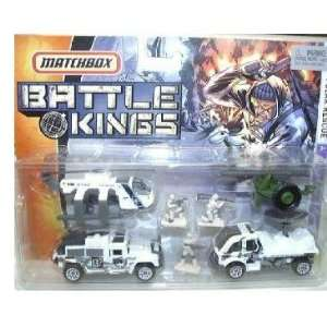 Matchbox Battle Kings Polar Rescue Military Set Toys