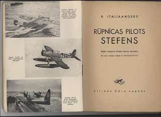 WW2 GERMAN ACE TEST PILOT STEFENS LATVIA BOOK