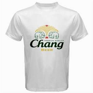 Chang Thai Beer Logo New White T Shirt Size  3XL