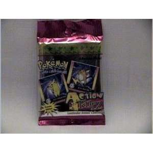 Pokemon Action Flipz Lenticular Action Trading Card Pack