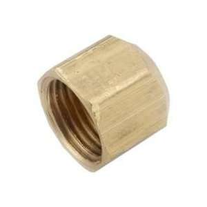 Anderson Metal Corp 54740 10 Flare CAP 5/8 Brass