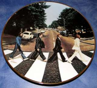 THE BEATLES Abbey Road DELPHI BRADFORD EXCHANGE PLATE