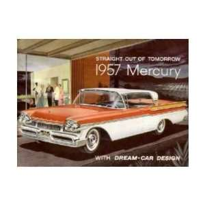 1957 MERCURY Sales Brochure Literature Book Piece