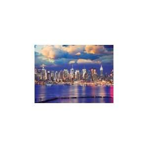 New York City Skyline   500 Pieces Jigsaw Puzzle Toys & Games