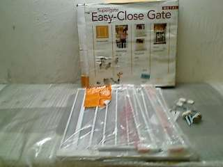North States Supergate Easy Close Metal Gate, White TADD
